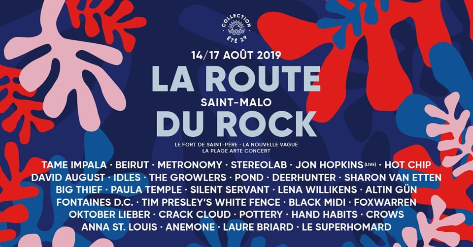 Festival La Route du Rock - Collection Été 2019