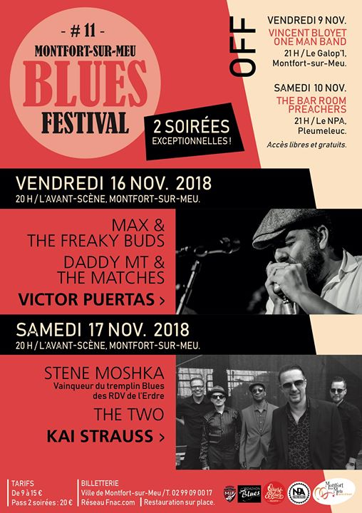 Montfort BLUES 2018