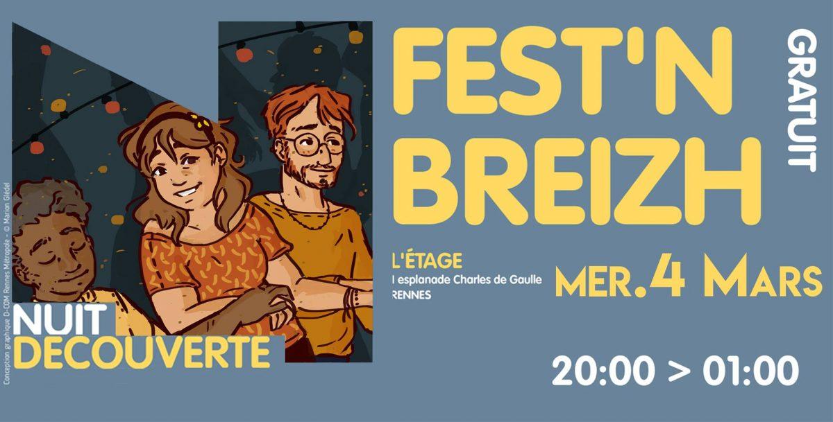 Fest'n Breizh: le FEST'NOZ nouvelle génération! Pour sa 12 ème édition, Fest'n Breizh vous propose de venir danser, jouer et en apprendre un peu plus sur la culture bretonne le [...]