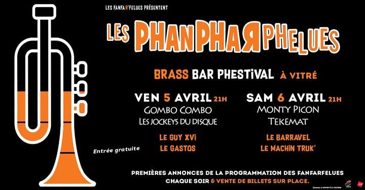 Un avant-goût du Festival Les Fanfarfelues dès le printemps ? C'est maintenant possible avec Les Phanpharphelues, le nouveau Brass Bar Phestival à Vitré.
