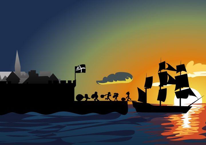 La Fête des Corsaires de Saint Malo accueillera le navire corsaire qui revient des Indes les cales remplies d'épices et produits précieux.