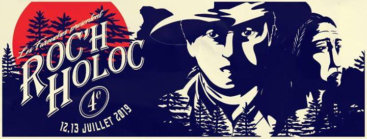 Roc'h Holoc #4:  les Farouches vous accueilleront pour deux jours de musique,  dans un cadre champêtre où la rivalité entre cow-boys et Indiens fera rage !!