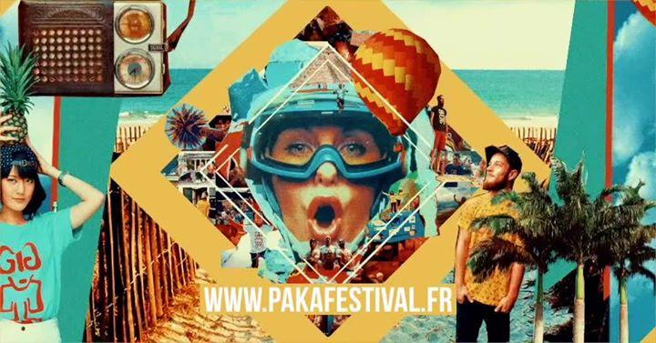 PAKA FESTIVAL se déroulera les 20 et 21 juillet 2019, au milieu du Bois du Poulbert à la Trinité-sur-Mer (56). Avec un décor exceptionnel venez vivre l'expérience PAKA dans un univers RETRO SUMMER des années 70's.