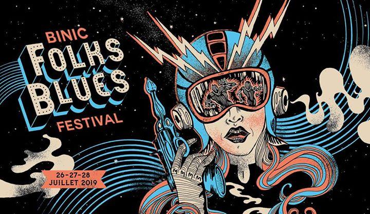Binic Folks Blues Festival 2019: Pour sa 11ème édition, La Nef D Fous, Binic, BZH met le paquet et vous dévoile une programmation complète et à son image,