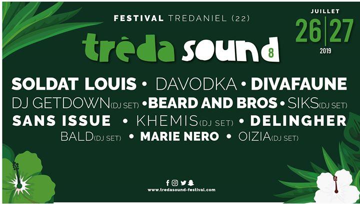 Le Festival Treda'Sound (22) revient pour une huitième édition ! Deux fois plus de promesses cette année puisque le Festival le déroulera sur 2 jours