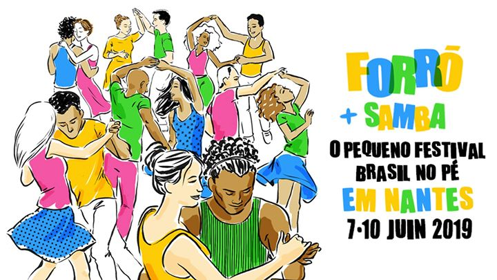 """Il revient et il ne veut toujours pas grandir ! Réservez votre week-end de Pentecôte pour le petit """"O Pequeno"""" Festival Brasil No Pé* 2019."""
