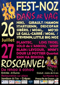 Dañs Ar Vag 2019 Les 20 ans! Le point d'orgue des animations proposées par l'association Ouvertures est le grand Fest-noz Dañs Ar Vag organisé en été.