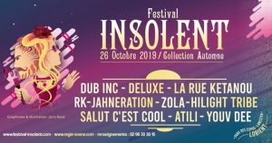 Festival Insolent collection automne 2019