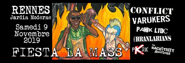 Pour sa 5e édition, la Fiesta La Mass revient en force ! Au programme, une soirée de concerts sous le signe du ska et du punk