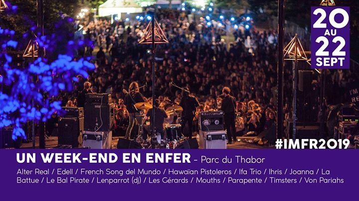 I'm from Rennes ══════════════════ UN WEEKEND EN ENFER ══════════════════ Du vendredi 20 au dimanche 22 sept, 3 jours de musique, de nature et d'immersion dans les scènes rennaises ! 🌳 [...]