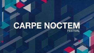 4ème édition du Carpe Noctem Festival. Au programme deux jours de fête House / Techno à Nantes !