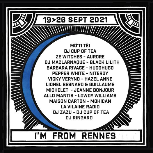 I'm from Rennes 2021 programmation