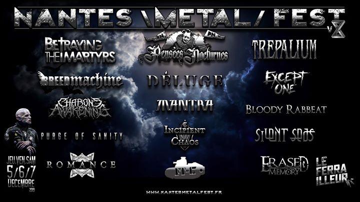 Le Nantes Metal Fest est de retour au Ferrailleur pour sa 8ème édition avec au programme les Franco Anglais de Betraying The Martyrs qui viendront présenter leur tout nouvel album,