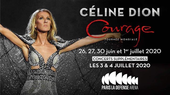 Celine Dion en France, icône mondiale et star inconditionnelle dans l'Hexagone, est de retour ! à Paris La Defense Arena en Juin 2019