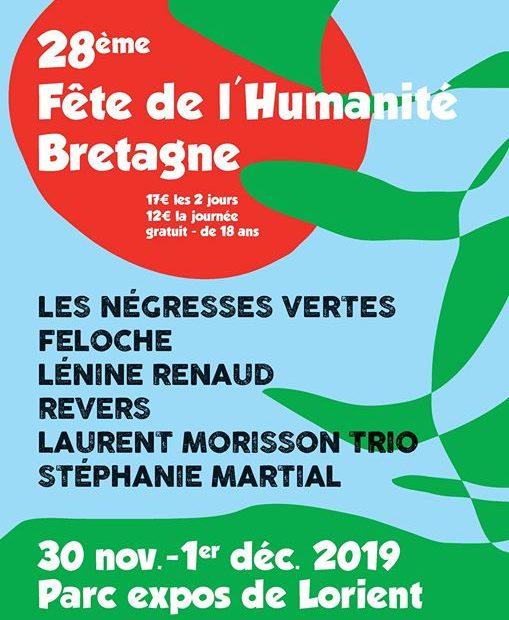 28ème Fête de l'Humanité Bretagne
