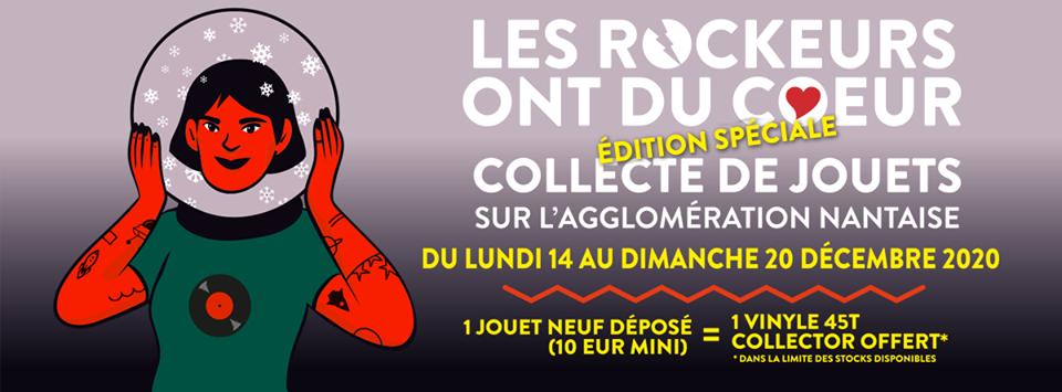 Festival en Bretagne en Decembre:l'association LES ROCKEURS ONT DU COEUR / NANTES organise, mi-décembre, le dernier grand rendez-vous culturel de l'année attendu par de nombreux Nantais