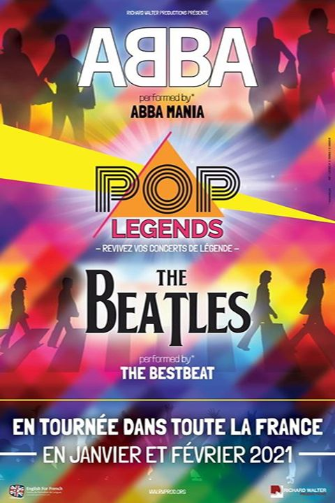Richard Walter Productions présente Pop Legends : Abba & The Beatles