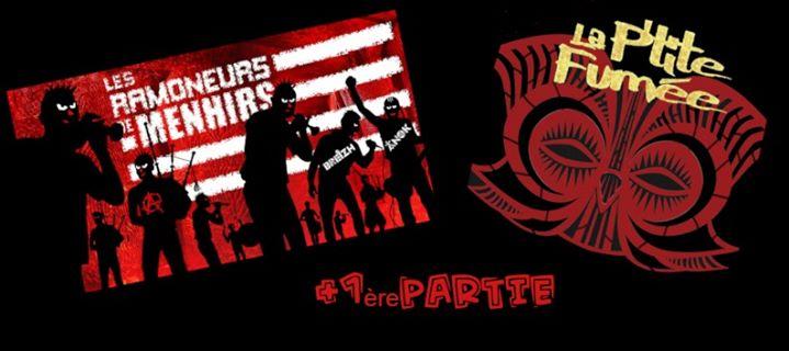 On Attend Pas Patrick #1 Salle des fêtes de rostrenen 1ère édition On Attend Pas Patrick Les Ramoneurs de Menhirs + La P'tite Fumée + 1ère partie