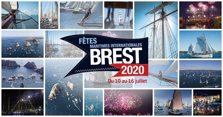 Brest 2020, Un des plus grands rassemblements maritimes au monde et 1er festival maritime payant d'Europe.