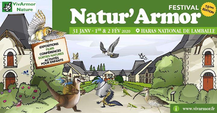 Vivarmor Nature vous donne rendez-vous du vendredi 31 janvier au dimanche 2 février 2020 au Haras National de Lamballe pour la 15ème édition du Festival Natur'Armor ! Au programme : [...]