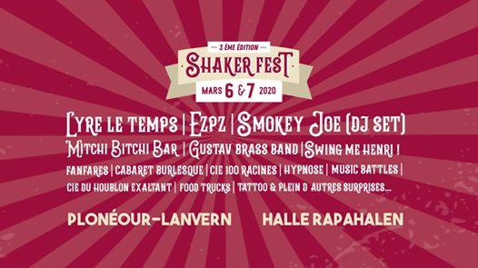 Shaker Fest, le seul et unique festival néo burlesque de tout le Finistère reprend ses quartiers à la Halle Raphalen de Plonéour-Lanvern les 1&2 mars 2019.