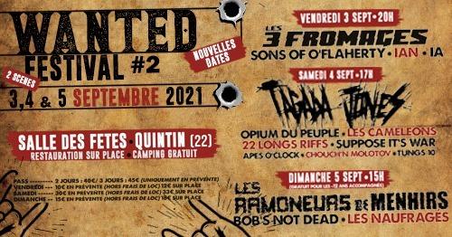 Deuxième édition du Wanted Festival à Quintin (22) en Bretagne